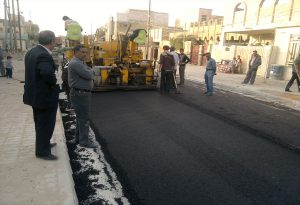 Projects for the development of the streets of the Hey Al-Hr and Hey Al-Thawrah with the opening of a new Cabin for them